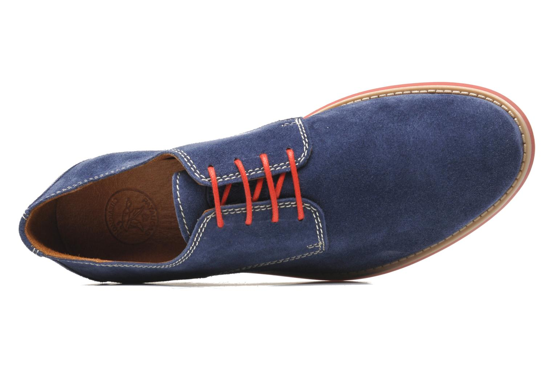 Chaussures à lacets Pataugas Hector H Bleu vue gauche