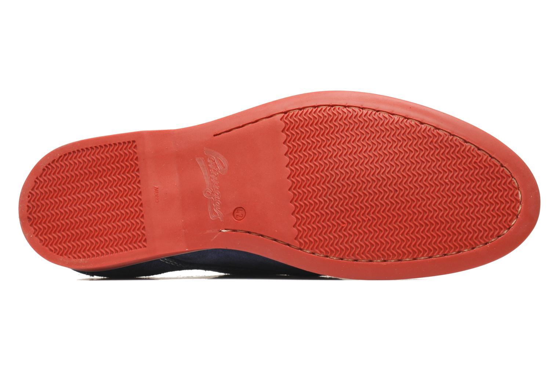 Chaussures à lacets Pataugas Hector H Bleu vue haut