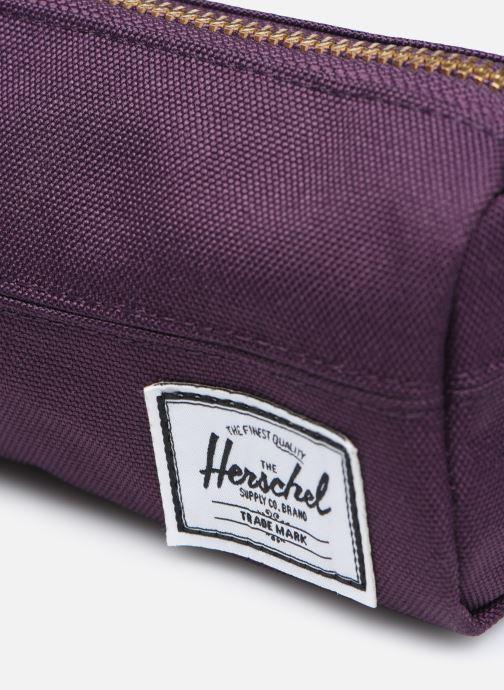 Bandoleras y Colegio Herschel Settlement Case Violeta      vista lateral izquierda