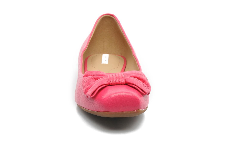 Ballerines Geox D Zilda A Rose vue portées chaussures