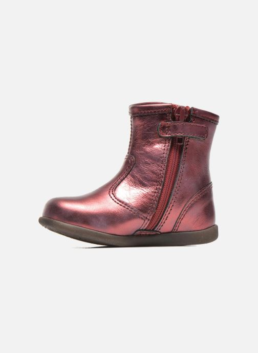 Ankle boots Stones and Bones SENA Burgundy front view