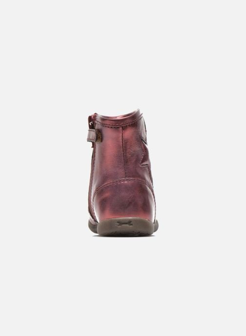 Ankle boots Stones and Bones SENA Burgundy view from the right