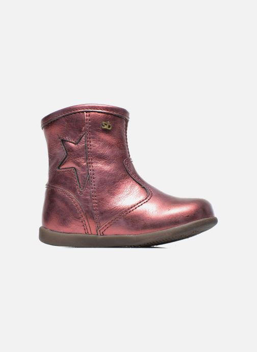 Ankle boots Stones and Bones SENA Burgundy back view