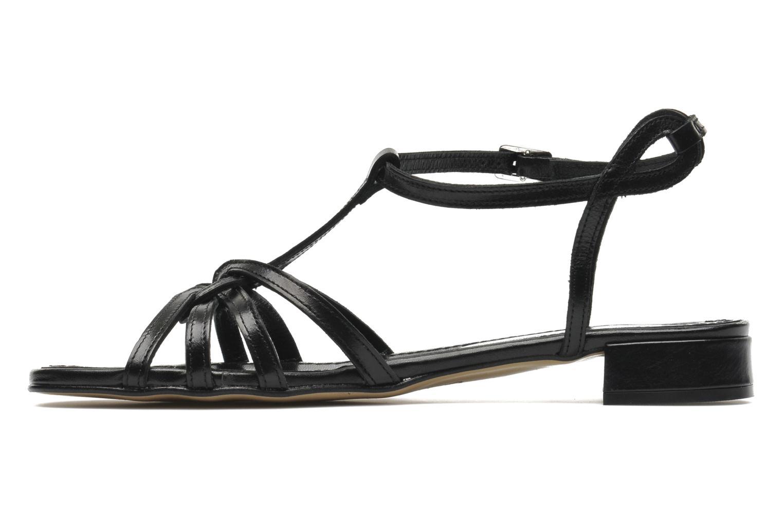 Sandales et nu-pieds Elizabeth Stuart Amelie Noir vue face