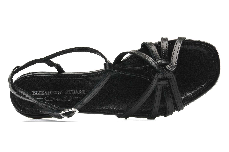 Sandales et nu-pieds Elizabeth Stuart Amelie Noir vue gauche