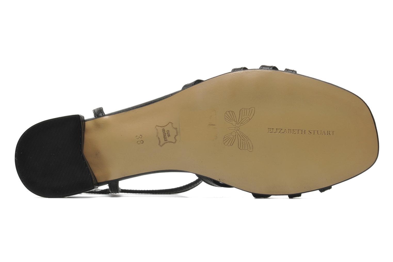 Sandales et nu-pieds Elizabeth Stuart Amelie Noir vue haut