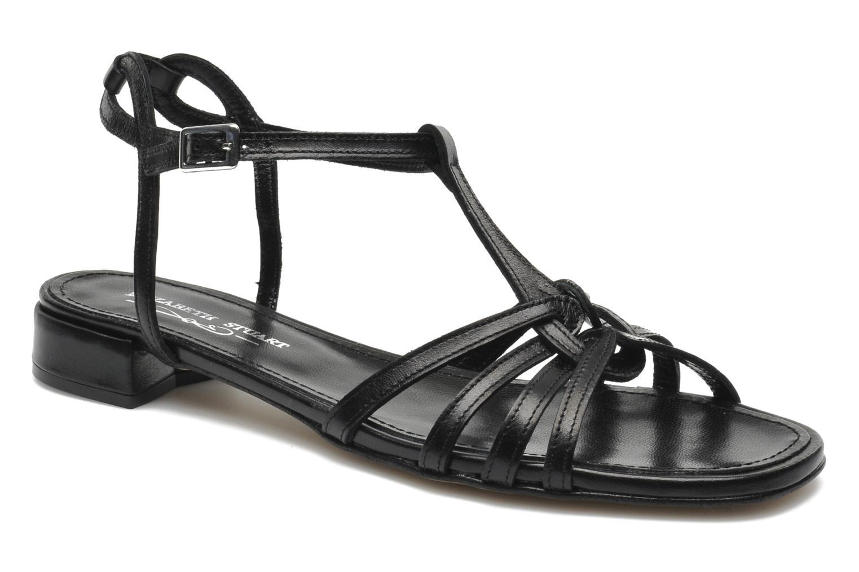 Sandales et nu-pieds Elizabeth Stuart Amelie Noir vue détail/paire