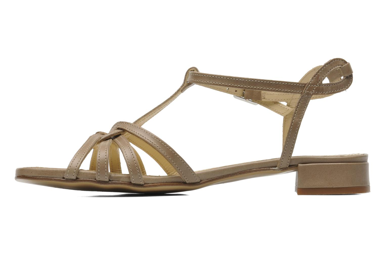 Sandals Elizabeth Stuart Amelie Beige front view