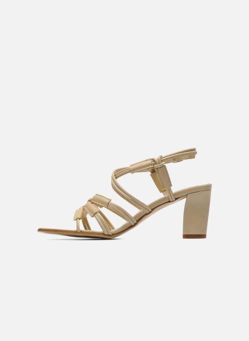 Sandales et nu-pieds Elizabeth Stuart Bakou Beige vue face