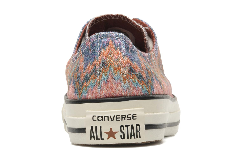 Deportivas Converse Chuck Taylor All Star Missoni Wash Ox W Multicolor vista lateral derecha
