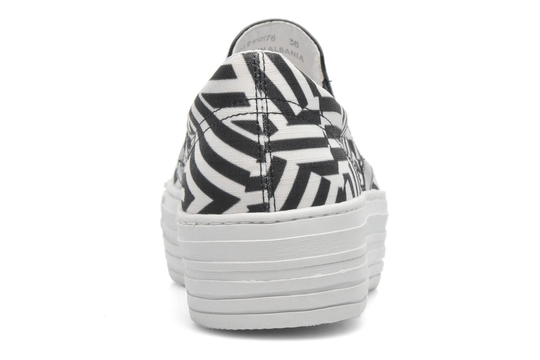 Baskets CULT Kiss Slip On 741 Noir vue droite