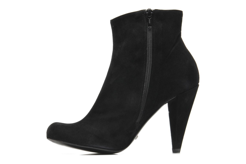 Bottines et boots Buffalo Maureen Noir vue face