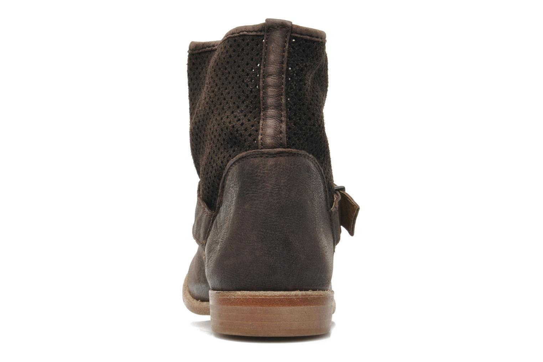 Bottines et boots Buffalo Harmony Marron vue droite