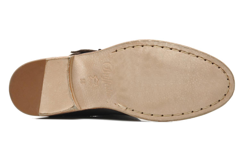 Bottines et boots Buffalo Harmony Marron vue haut