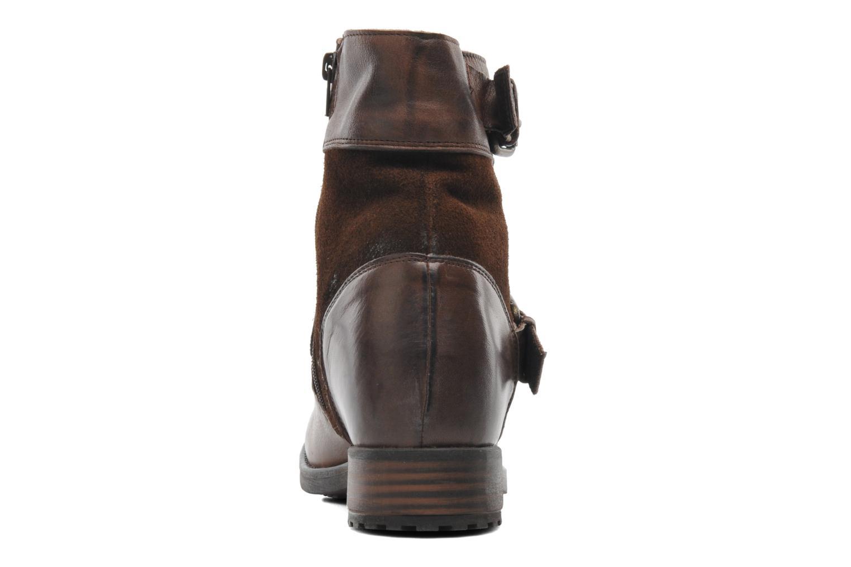 Bottines et boots Buffalo Nelly Marron vue droite