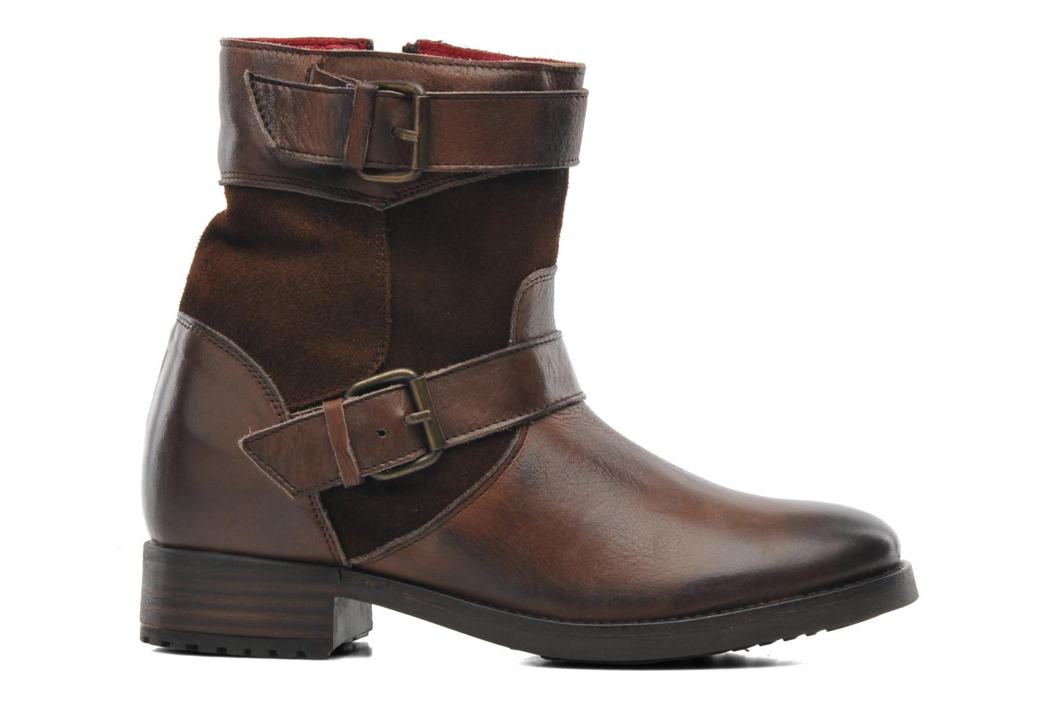 Ankle boots Buffalo Nelly Brown back view