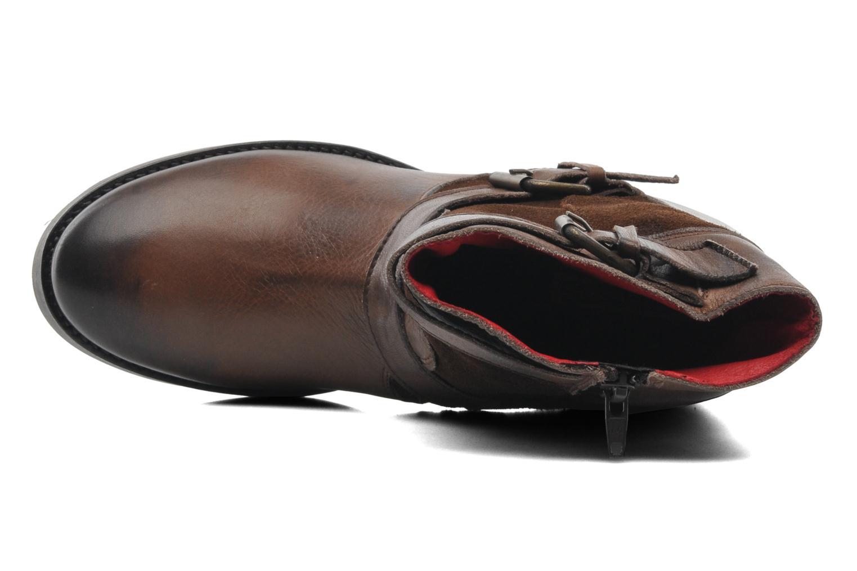 Bottines et boots Buffalo Nelly Marron vue gauche