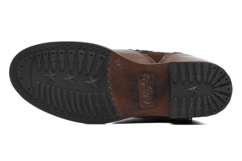 Bottines et boots Buffalo Nelly Marron vue haut