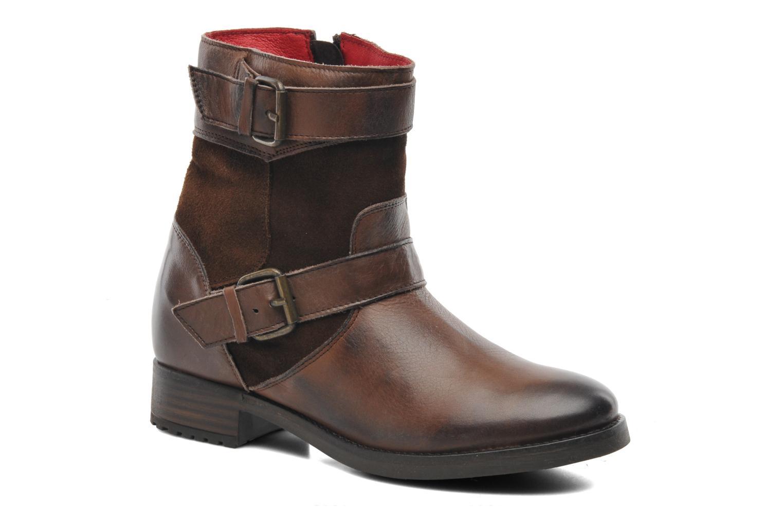 Bottines et boots Buffalo Nelly Marron vue détail/paire