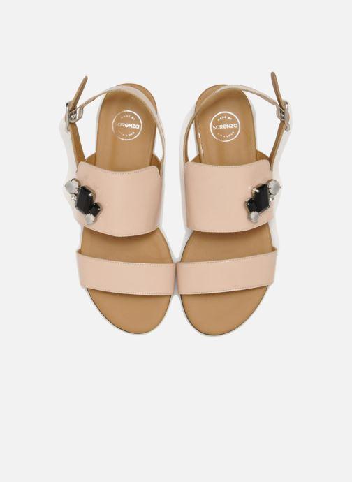 Sandali e scarpe aperte Made by SARENZA Chamallow #2 Beige modello indossato