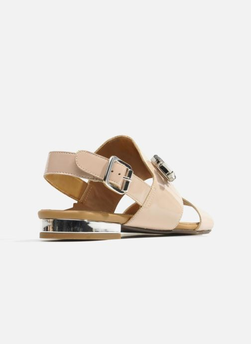 Sandals Made by SARENZA Chamallow #2 Beige front view