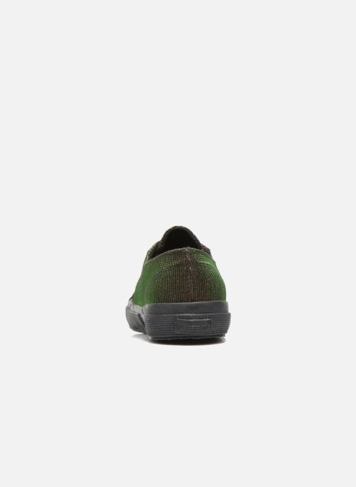 Trainers Superga 2750 Jersey Sunshine W Green view from the right