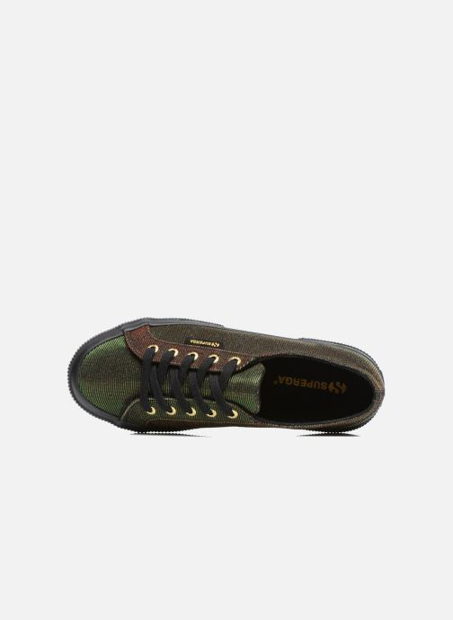 Sneakers Superga 2750 Jersey Sunshine W Verde immagine sinistra