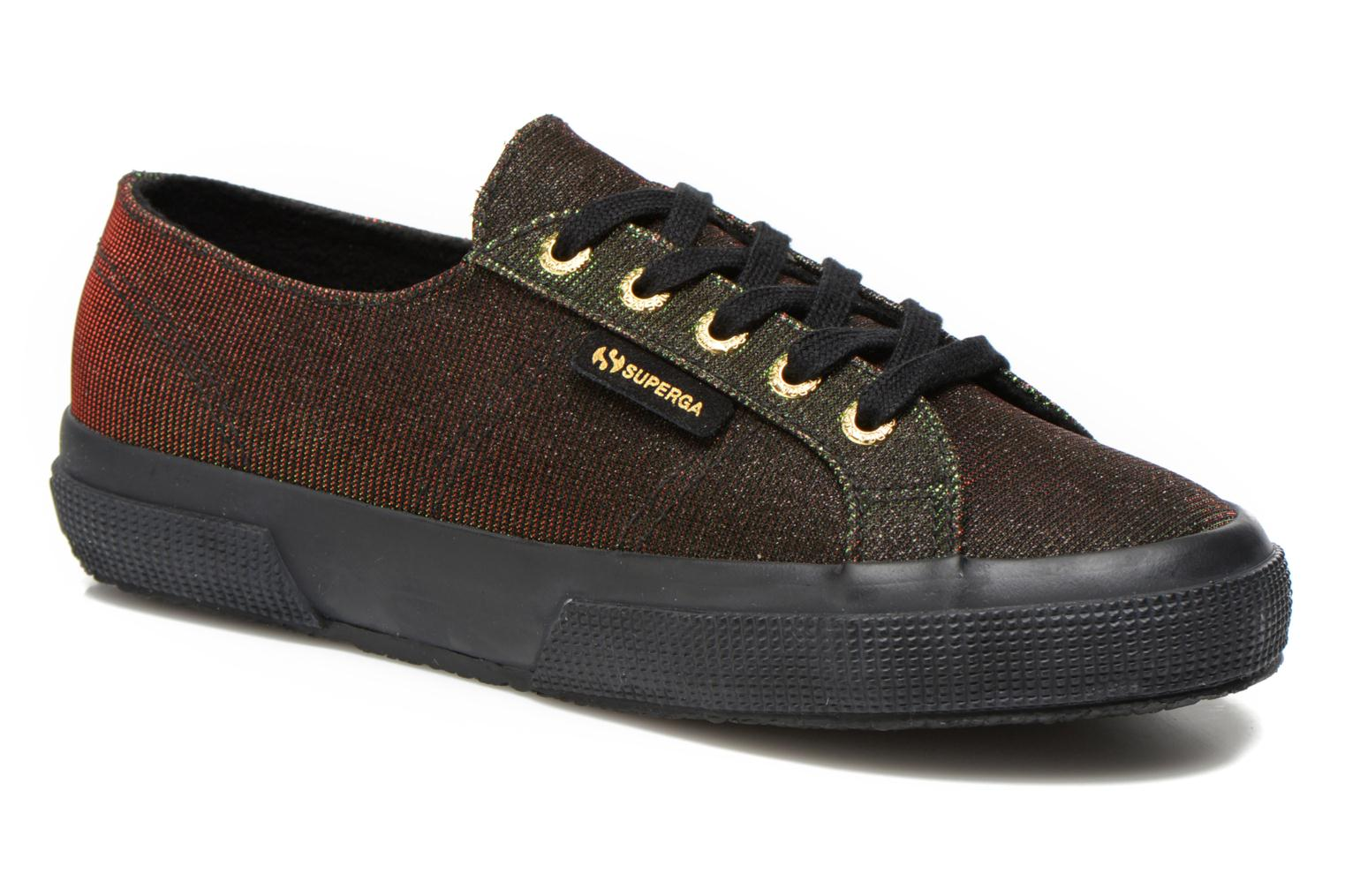 Trainers Superga 2750 Jersey Sunshine W Green detailed view/ Pair view