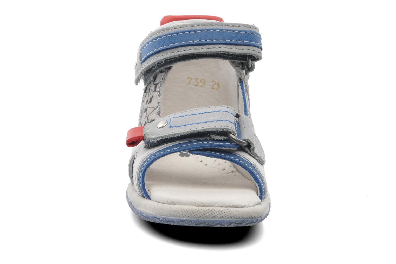 Sandales et nu-pieds Babybotte Tag 2 Gris vue portées chaussures
