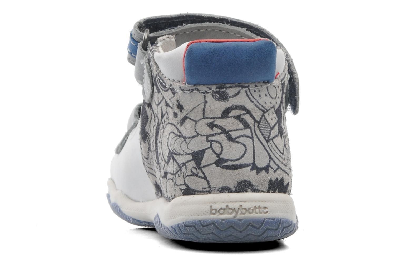 Sandales et nu-pieds Babybotte Tag 2 Gris vue droite