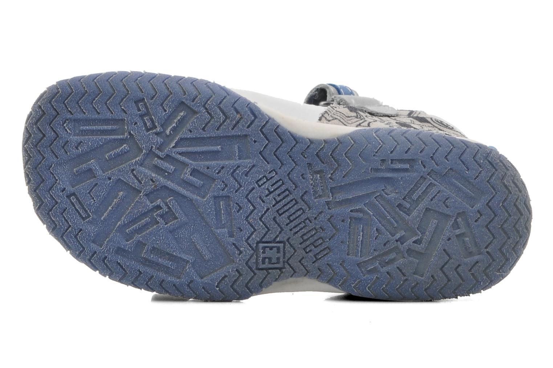 Sandales et nu-pieds Babybotte Tag 2 Gris vue haut