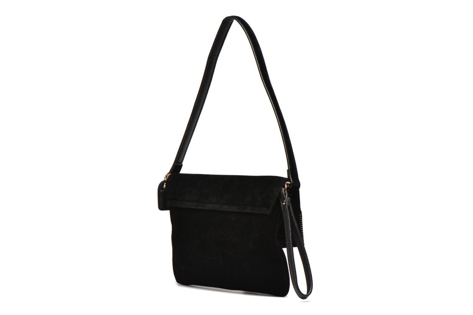 Clutch bags Clarks Just May Black view from the right