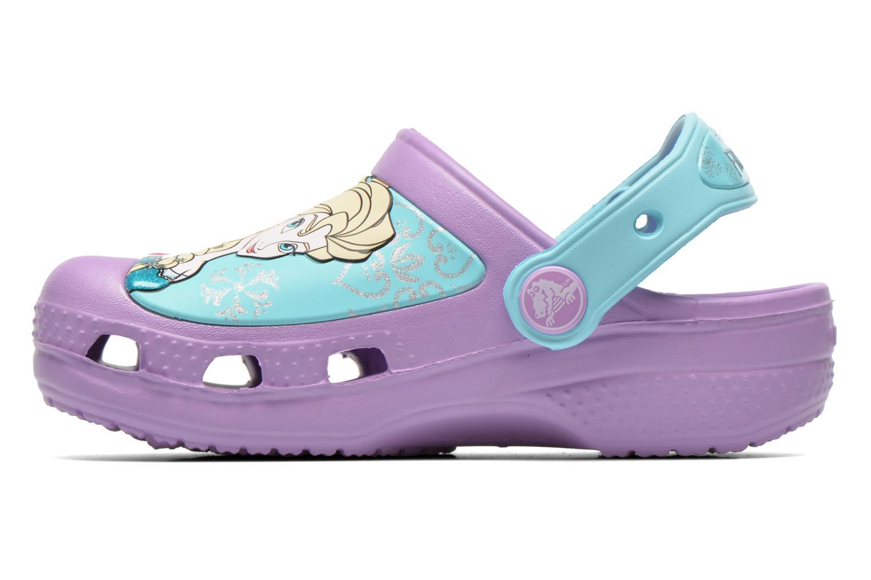 Sandals Crocs CC Frozen Clog-Iris Multicolor front view