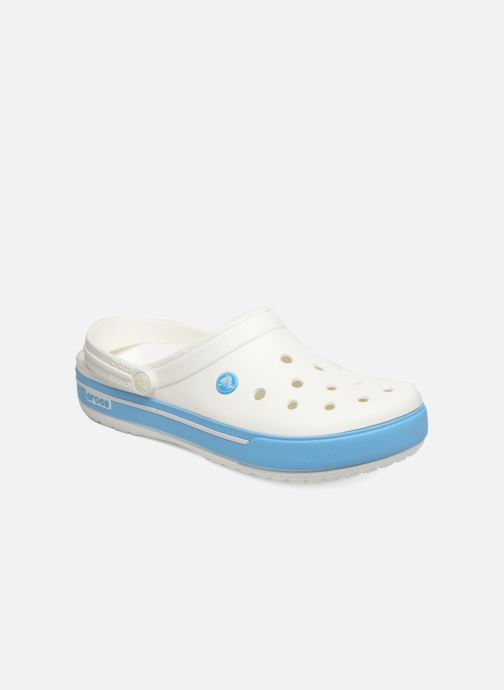 Sandals Crocs Crocband II.5 Clog White detailed view/ Pair view