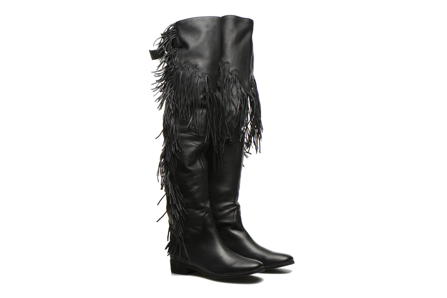 Bottes See by Chloé EPONA HIGH Noir vue 3/4
