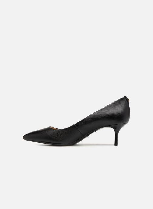 Zapatos de tacón Michael Michael Kors Mk Flex Kitten Pump Negro vista de frente