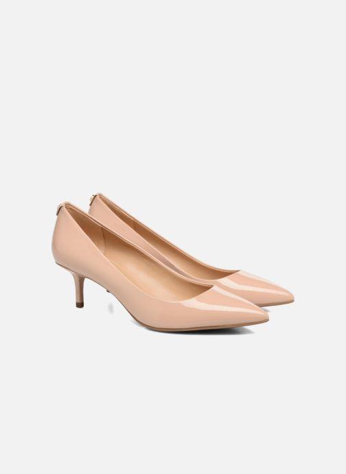 Zapatos de tacón Michael Michael Kors Mk Flex Kitten Pump Beige vista 3/4