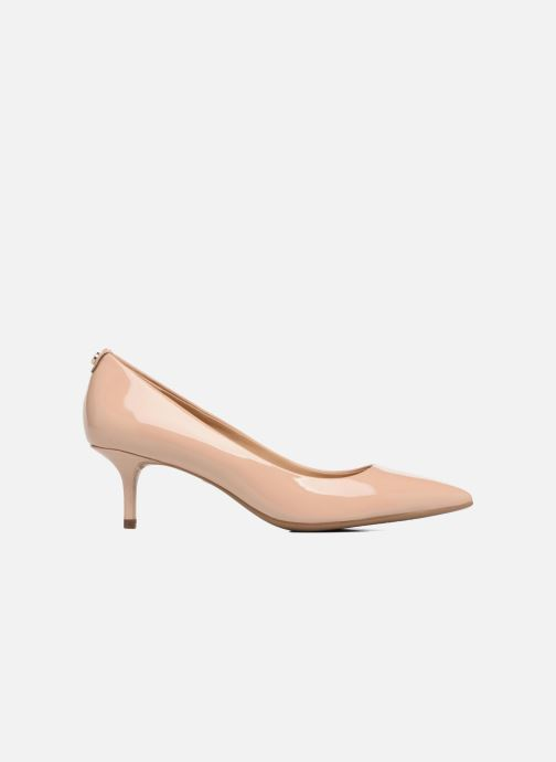 Zapatos de tacón Michael Michael Kors Mk Flex Kitten Pump Beige vistra trasera