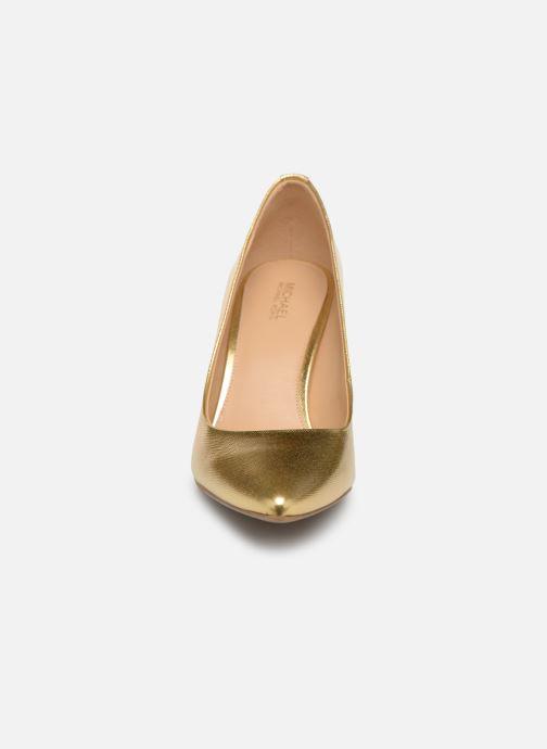 Pumps Michael Michael Kors Mk Flex Mid Pump Bronze och Guld bild av skorna på