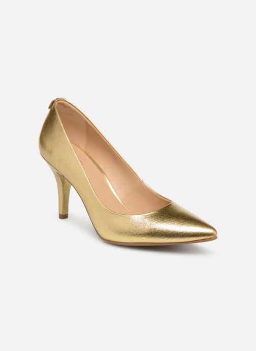 ecdd23251317 High heels Michael Michael Kors Mk Flex Mid Pump Bronze and Gold detailed  view  Pair
