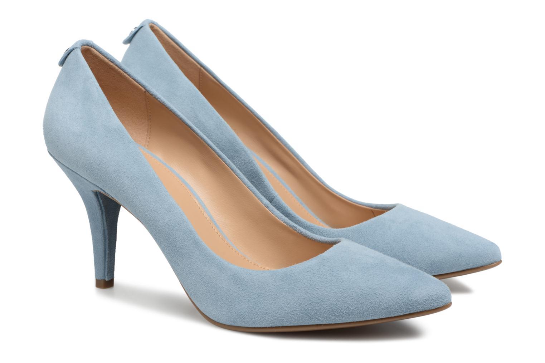 High heels Michael Michael Kors Mk Flex Mid Pump Blue 3/4 view