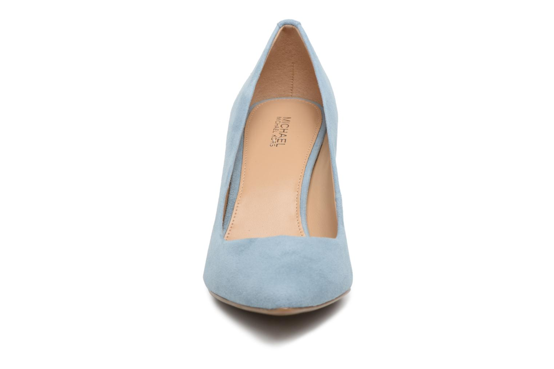 High heels Michael Michael Kors Mk Flex Mid Pump Blue model view