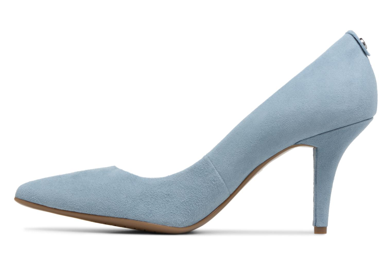 High heels Michael Michael Kors Mk Flex Mid Pump Blue front view