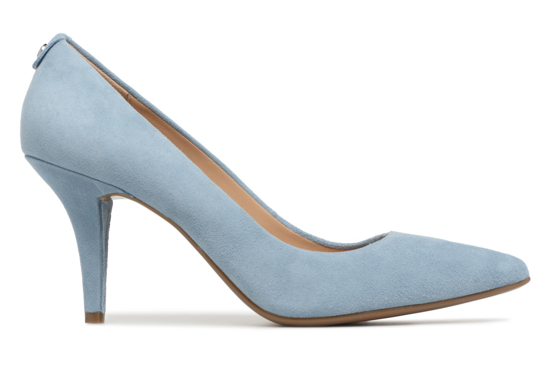 High heels Michael Michael Kors Mk Flex Mid Pump Blue back view