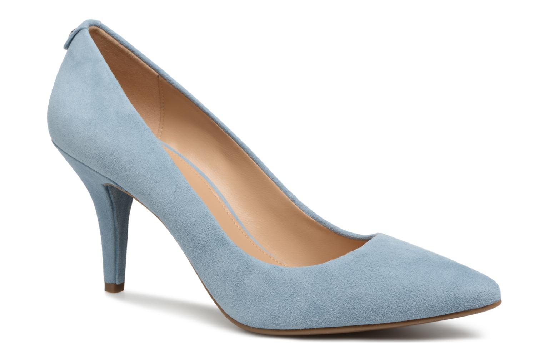 High heels Michael Michael Kors Mk Flex Mid Pump Blue detailed view/ Pair view