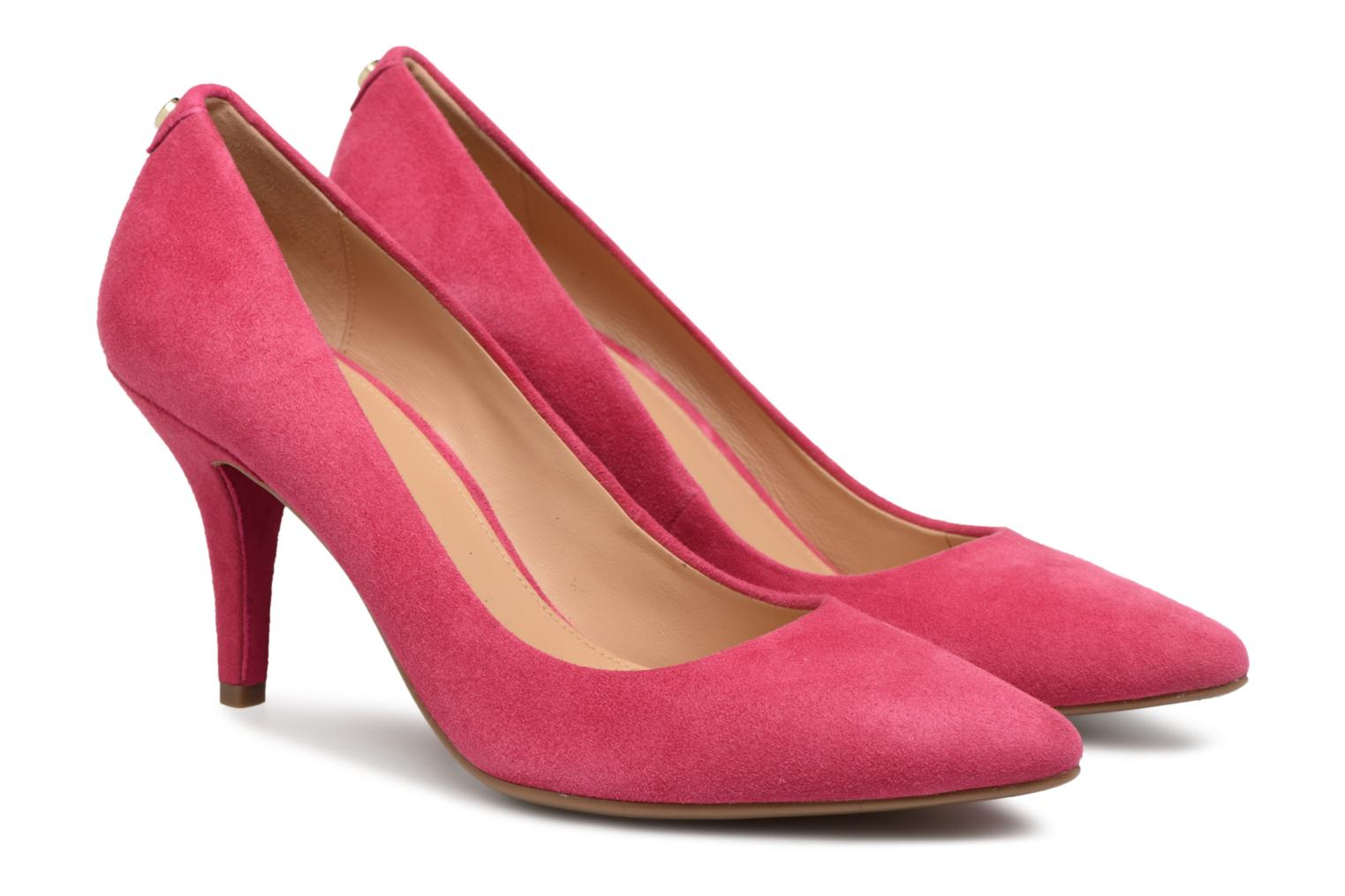 High heels Michael Michael Kors Mk Flex Mid Pump Pink 3/4 view