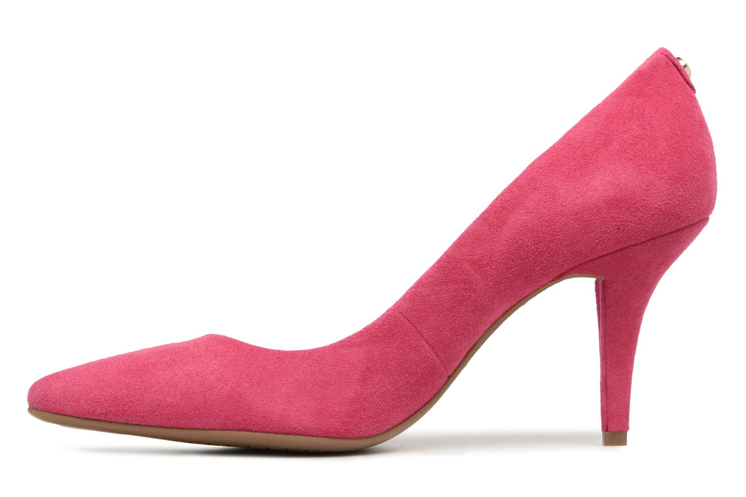 High heels Michael Michael Kors Mk Flex Mid Pump Pink front view