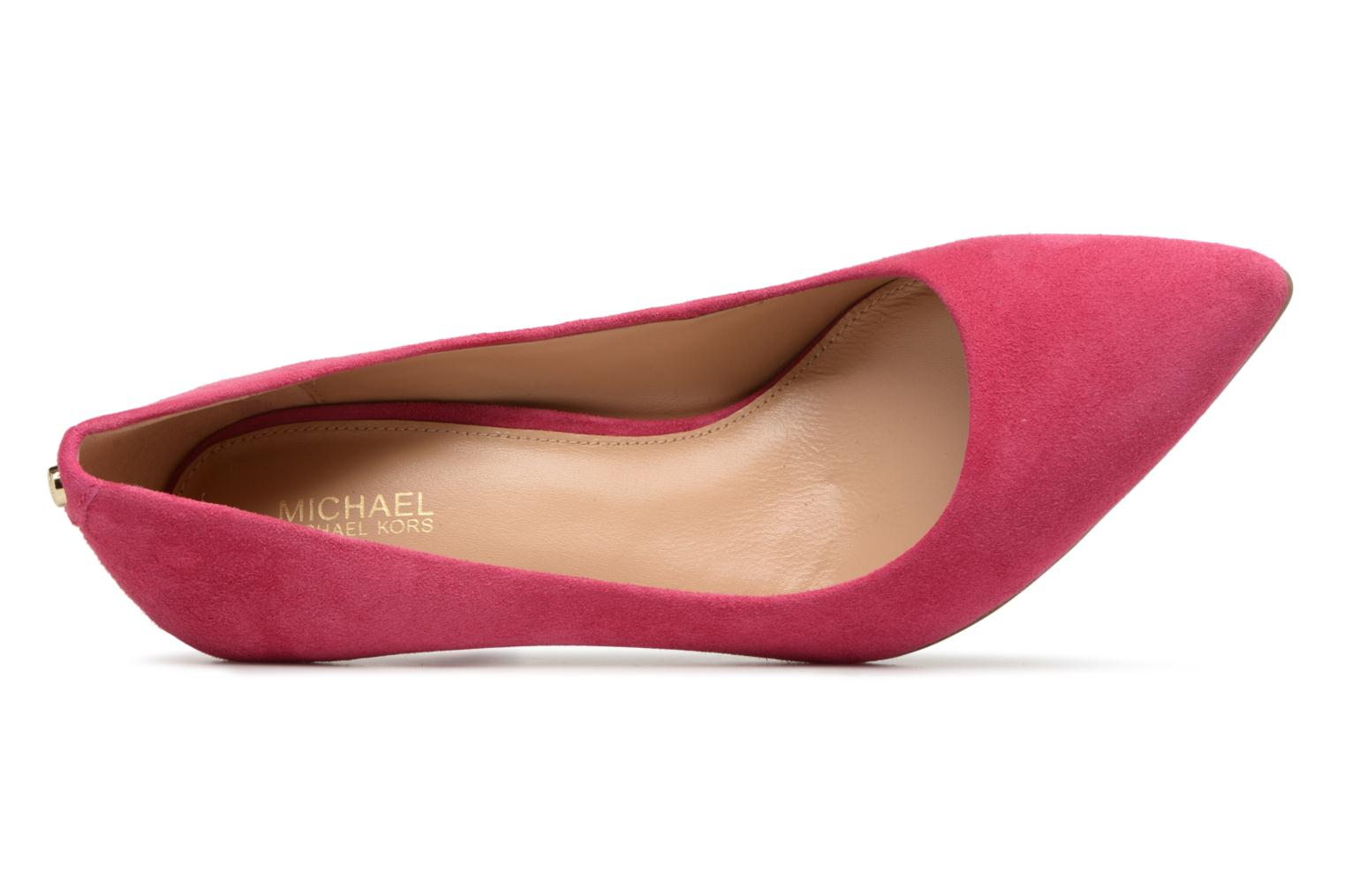 High heels Michael Michael Kors Mk Flex Mid Pump Pink view from the left