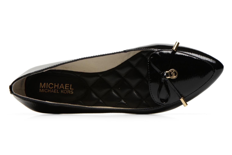 Ballerines Michael Michael Kors Nancy Flat Noir vue gauche