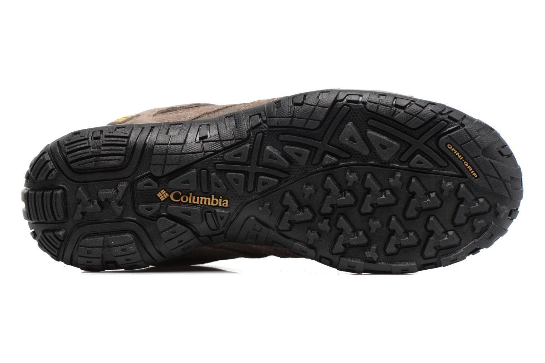 Chaussures de sport Columbia Redmond Mid Waterproof Marron vue haut